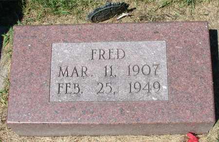 ROCHAU, FRED - Ida County, Iowa | FRED ROCHAU
