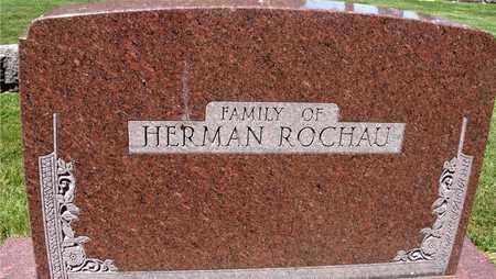 ROCHAU, FAMILY MARKER - Ida County, Iowa | FAMILY MARKER ROCHAU
