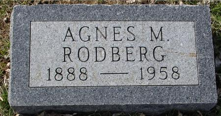 RODBERG, AGNES M. - Ida County, Iowa | AGNES M. RODBERG