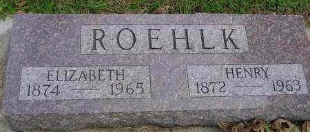 ROEHLK, HENRY & ELIZABETH - Ida County, Iowa | HENRY & ELIZABETH ROEHLK