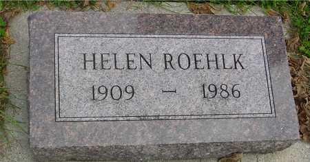 ROEHLK, HELEN - Ida County, Iowa   HELEN ROEHLK