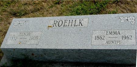ROEHLK, HENRY & EMMA - Ida County, Iowa | HENRY & EMMA ROEHLK
