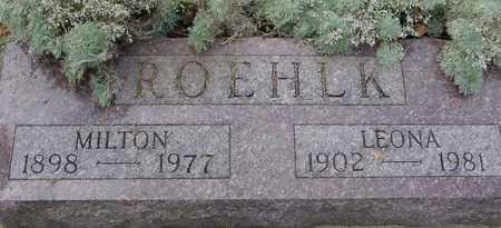 ROEHLK, MILTON & LEONA - Ida County, Iowa   MILTON & LEONA ROEHLK