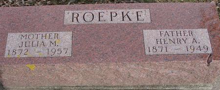 ROEPKE, HENRY & JULIA - Ida County, Iowa | HENRY & JULIA ROEPKE