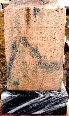 MILLER ROGERS, AGNES - Ida County, Iowa | AGNES MILLER ROGERS