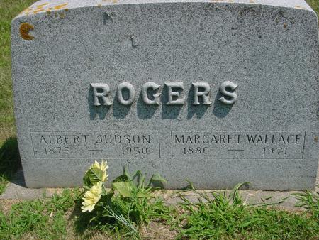 ROGERS, ALBERT JUDSON - Ida County, Iowa   ALBERT JUDSON ROGERS