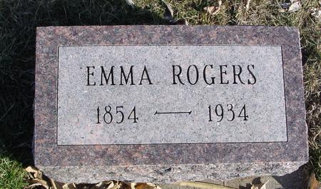 ROGERS, EMMA - Ida County, Iowa | EMMA ROGERS