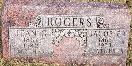ROGERS, JACOB & JEAN G. - Ida County, Iowa | JACOB & JEAN G. ROGERS