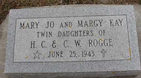 ROGGE, MARY J & MARGY KAY - Ida County, Iowa | MARY J & MARGY KAY ROGGE