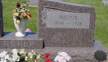 ROHLF, MILTON - Ida County, Iowa   MILTON ROHLF