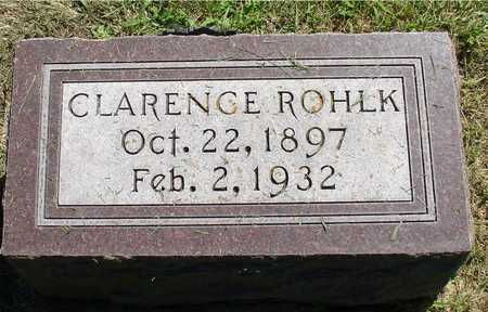 ROHLK, CLARENCE - Ida County, Iowa | CLARENCE ROHLK