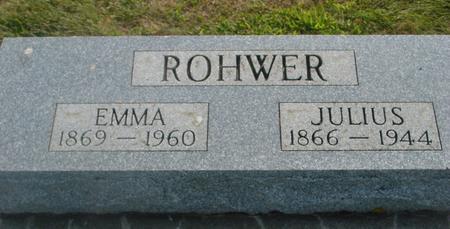 ROHWER, JULIUS & EMMA - Ida County, Iowa | JULIUS & EMMA ROHWER