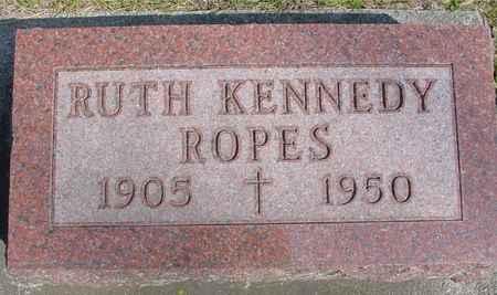KENNEDY ROPES, RUTH - Ida County, Iowa | RUTH KENNEDY ROPES