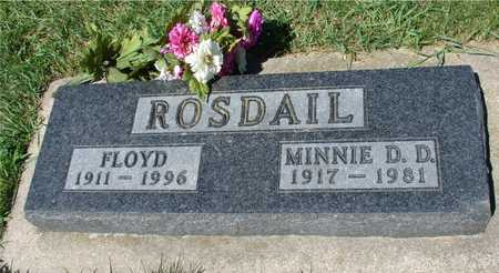 ROSDAIL, FLOYD & MINNIE - Ida County, Iowa | FLOYD & MINNIE ROSDAIL