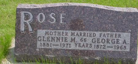 ROSE, GLENNIE M. - Ida County, Iowa | GLENNIE M. ROSE