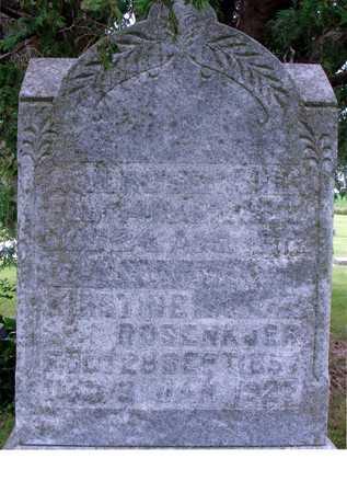 ROSENKJER, KIRSTINE & A.N. - Ida County, Iowa | KIRSTINE & A.N. ROSENKJER
