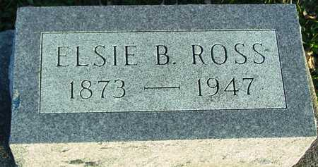 ROSS, ELSIE B. - Ida County, Iowa   ELSIE B. ROSS