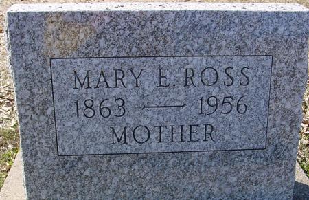 ROSS, MARY E. - Ida County, Iowa | MARY E. ROSS