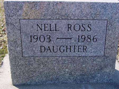 ROSS, NELL - Ida County, Iowa | NELL ROSS