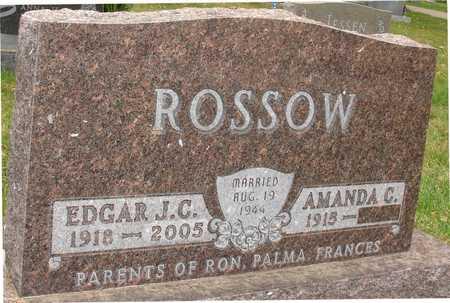 ROSSOW, EDGAR J. C. - Ida County, Iowa   EDGAR J. C. ROSSOW
