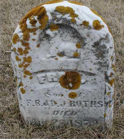ROTHS, FRED - Ida County, Iowa   FRED ROTHS