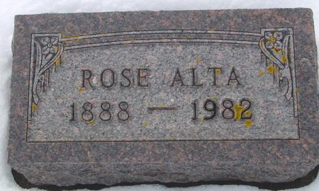 RUPERT, ROSE ALTA - Ida County, Iowa   ROSE ALTA RUPERT