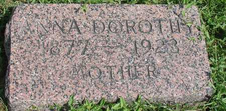 RUSCH, ANNA DOROTHY - Ida County, Iowa   ANNA DOROTHY RUSCH