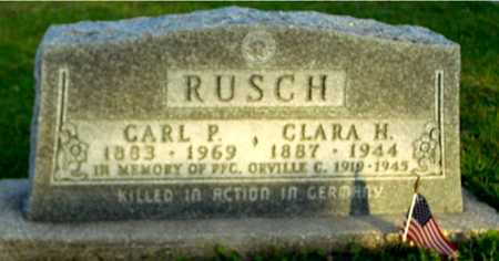 RUSCH, CARL P. & CLARA H. - Ida County, Iowa | CARL P. & CLARA H. RUSCH