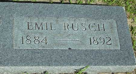 RUSCH, EMIL - Ida County, Iowa   EMIL RUSCH