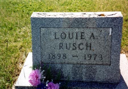 RUSCH, LOUIE A. - Ida County, Iowa | LOUIE A. RUSCH