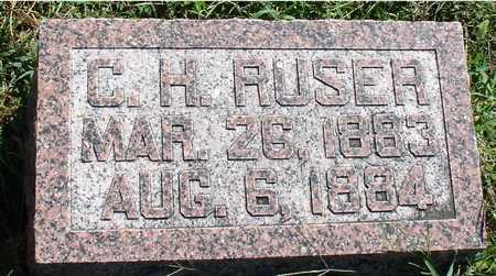 RUSER, C. H. - Ida County, Iowa | C. H. RUSER