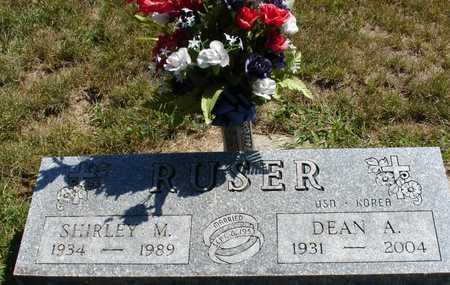 RUSER, DEAN & SHIRLEY - Ida County, Iowa   DEAN & SHIRLEY RUSER