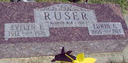 RUSER, EDWIN & EVELYN - Ida County, Iowa | EDWIN & EVELYN RUSER
