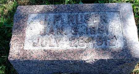 RUSER, J. P. - Ida County, Iowa | J. P. RUSER