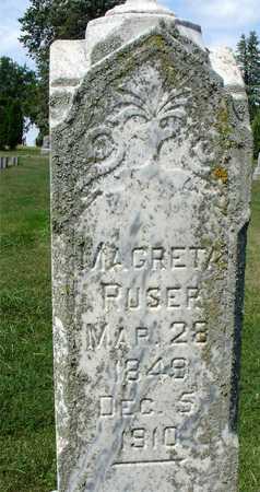 RUSER, MAGRETA - Ida County, Iowa | MAGRETA RUSER