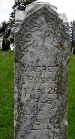 RUSER, MAGRET - Ida County, Iowa | MAGRET RUSER