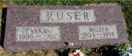 RUSER, WALTER & VERA - Ida County, Iowa | WALTER & VERA RUSER