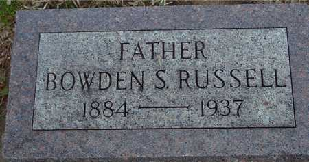 RUSSELL, BOWDEN S. - Ida County, Iowa | BOWDEN S. RUSSELL