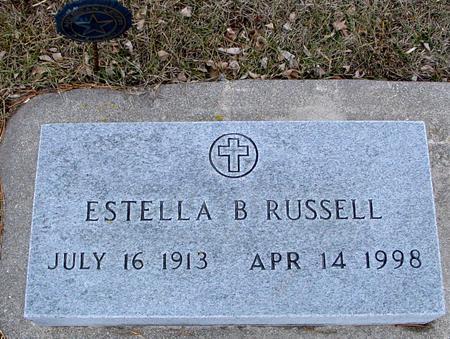 RUSSELL, ESTELLA B. - Ida County, Iowa | ESTELLA B. RUSSELL
