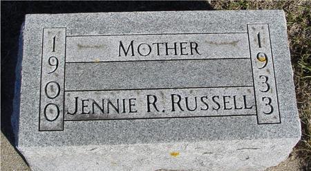 RUSSELL, JENNIE R. - Ida County, Iowa | JENNIE R. RUSSELL