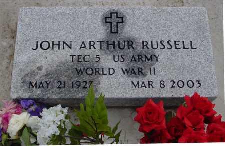 RUSSELL, JOHN ARTHUR - Ida County, Iowa | JOHN ARTHUR RUSSELL