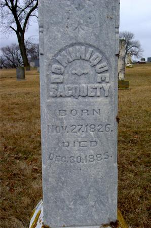 SACQUETY, DOMINIQUE - Ida County, Iowa | DOMINIQUE SACQUETY