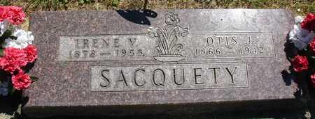 SACQUETY, OTIS & IRENE - Ida County, Iowa | OTIS & IRENE SACQUETY
