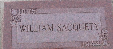 SACQUETY, WILLIAM - Ida County, Iowa | WILLIAM SACQUETY