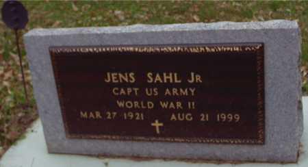 SAHL, JENS JR. - Ida County, Iowa   JENS JR. SAHL