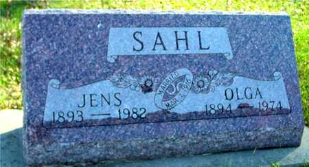 SAHL, JENS & OLGA - Ida County, Iowa | JENS & OLGA SAHL