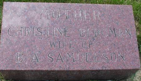 BERGMAN SAMUELSON, CHRISTINE - Ida County, Iowa | CHRISTINE BERGMAN SAMUELSON