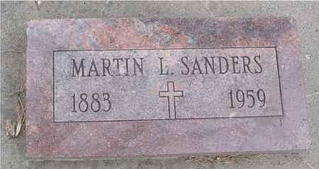 SANDERS, MARTIN L. - Ida County, Iowa | MARTIN L. SANDERS