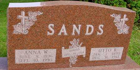SANDS, OTTO B. & ANNA W. - Ida County, Iowa | OTTO B. & ANNA W. SANDS