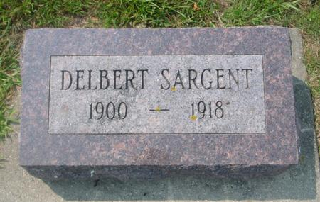 SARGENT, DELBERT - Ida County, Iowa | DELBERT SARGENT